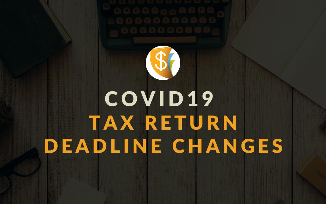 Deadline Changes Of Coronavirus (Covid-19) Tax Payments