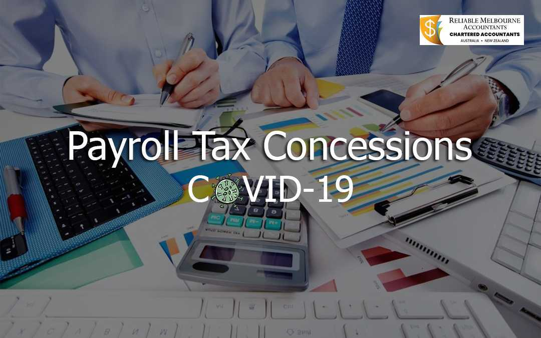 Payroll Tax Relief for Businesses in Australia