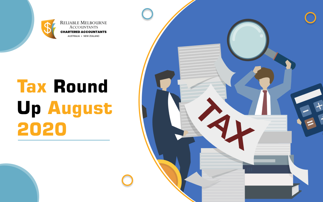 Tax Round Up August 2020 – Minimum Repayment Relief – JobKeeper 2.0