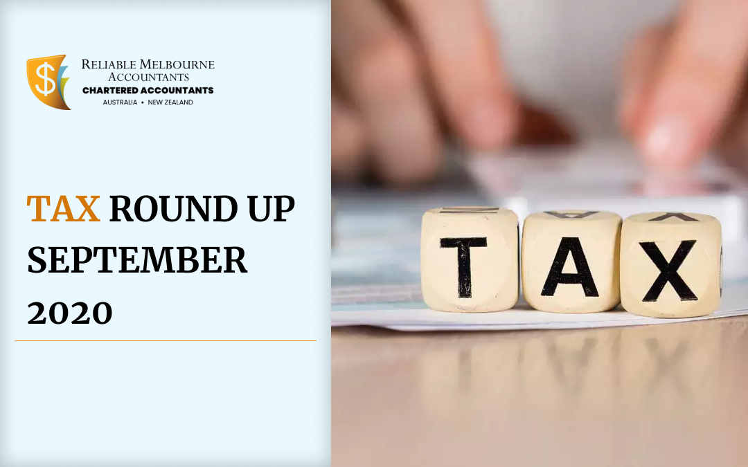 tax round up september 2020