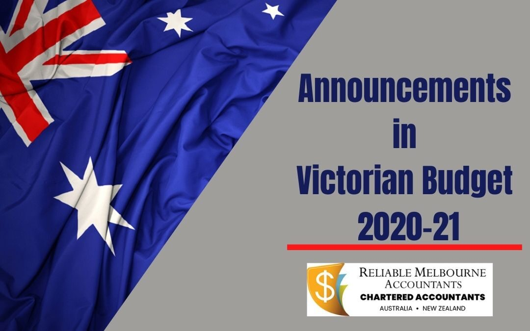Announcements in Victorian Budget 2020-21