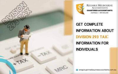 Get Complete Information about Division 293 Tax: Information for Individuals