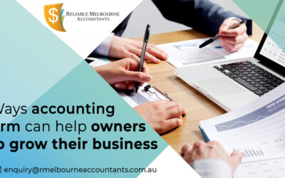 Ways accounting firm can help owners to grow their business