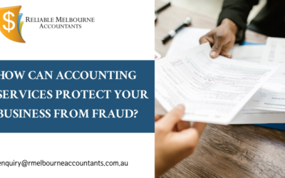 How Can Accounting Services Protect Your Business from Fraud?