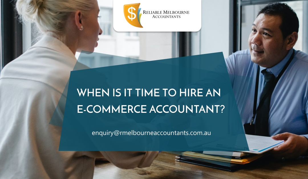 When is it time to hire an e-commerce accountant?