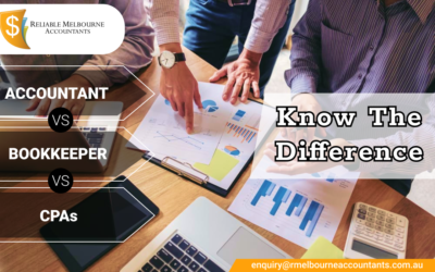 Accountant vs CPAs vs Bookkeeper: Know the Difference